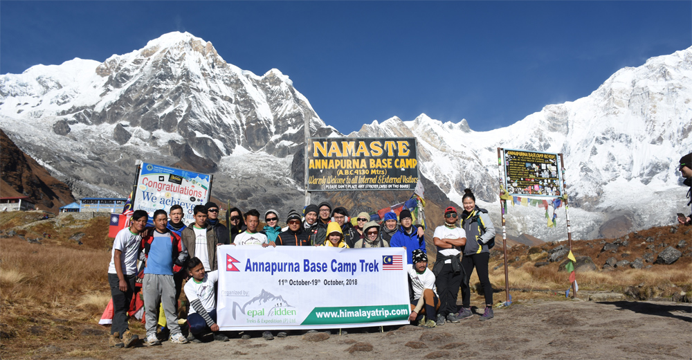 Annapurna Base Camp Trek 7 Days Itinerary Cost Map