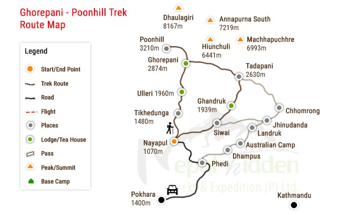 4 Days Poonhill Trek Is A Short And Easy Trek In Annapurna