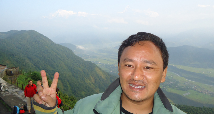 excellent view from sarangkot